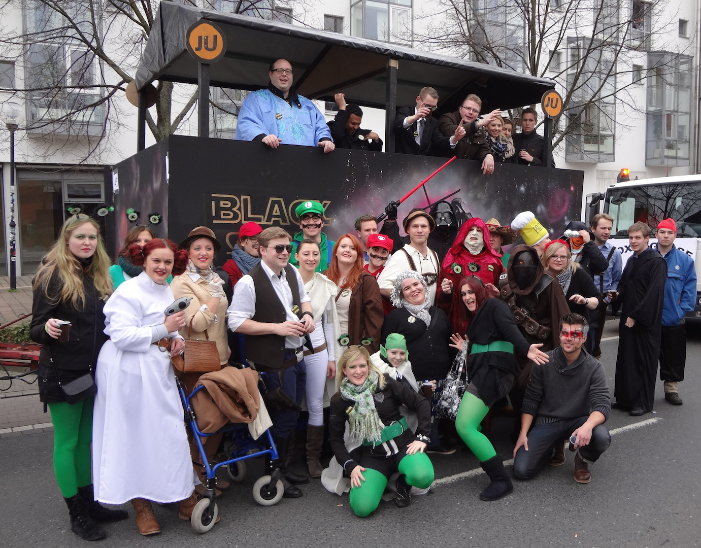 Karneval 2014 Gruppenbild